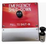 HLR 7830 EMERGENCY SHUTDOWN STATION (SINGLE LINE)